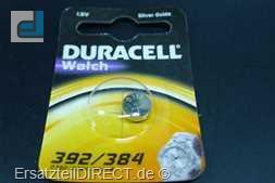 Duracell Knopfzelle 392/384 B1 (1Stück) LR41