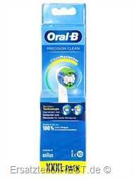 Braun Oral-B Aufsbürsten PrecisionClean XXXL 10er