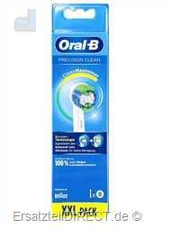 Braun Oral-B Aufsbürsten PrecisionClean XXL 8er