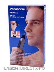 Panasonic Nasen,-& Ohrhaarschneider ER412 (ER 412)
