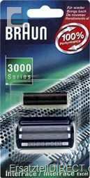 Braun Kombipack 3000 (3600) / blauer Rahmen #