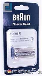 Braun Rasierer Scherteilekassette 83M Series 8*