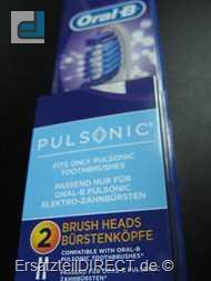 Braun Oral-B Aufsteckbürsten SR32 Pulsonic 2erPack
