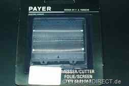 Payer Rasierer Scherfolie Scherblatt Typ 18 24 32# PAYER