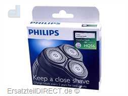 Philips Scherkopf 3er-SET HQ56 (Super Reflex)