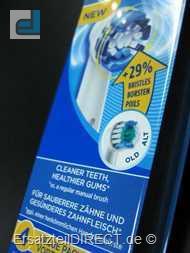 Braun Oral-B Zahnbürsten PrecisionClean 4er EB20-4