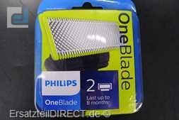 Philips Barttrimmer 2x OneBlade QP2520 6510 QP6520