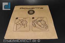Rowenta Bodenstaubsauger Beutel für RO2123 RO2121
