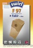 Swirl Staubsaugerbeutel F97 / (F 97) (Fakir)
