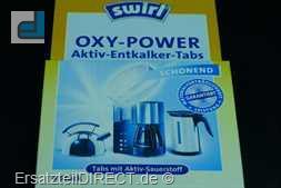Swirl Oxy-Power / Aktiv-Entkalker-Tabs 4 Stück