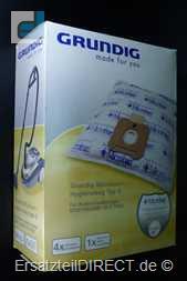 Grundig Staubsaugerbeutel Microban VCB76 - VCC7650