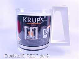 Krups Kaffeemaschinen Glaskanne weiß für T8 KM46*