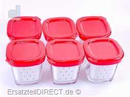 Tefal Joghurt Bereiter Gläser Set 6er Pack YG65288