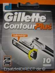 Gillette Ersatzklingen Contour Plus / 10er-Pack #