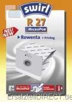 Swirl Staubsaugerbeutel R27 / MicroPor (Rowenta...