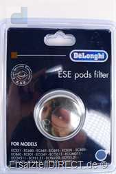 DeLonghi Espressomaschinen E.S.E Pad-Filtereinsatz