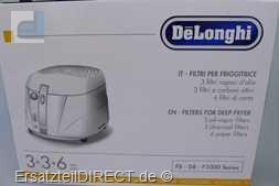 DeLonghi Fritteusen Filter-Set zu F818 F890 F895