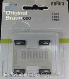 Braun Damenrasierer Scherfolie Typ 660 #