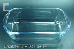 Braun Glasschüssel für FreshWare System Wanne #