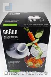 Braun Behälter+Ersatzmesser Zerkleiner 1500ml MQ70