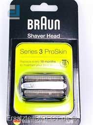 Braun TripleAction Kombipack 32B Serie3 Cassette