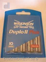 Wilkinson Ersatzklingen Duplo II plus / 10er-Pack