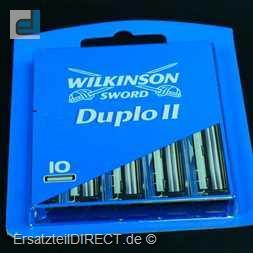 Wilkinson ERSATZKLINGEN Duplo II  / 10er-Pack