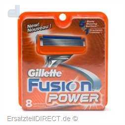 Gillette Ersatzklingen Fusion Power /8er-Pack #