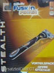 Gillette Fusion Power Stealth Naßrasierer +GEL