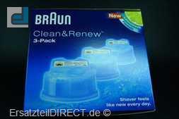 Braun CCR-Kartusche 3er 360 Complete Serie7 Serie9