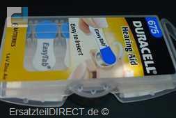 Duracell Knopfzelle EasyTab 675 (PR44) 6er-Pack