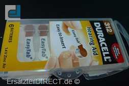 Duracell Knopfzelle EasyTab 312 (PR41) 6er-Pack