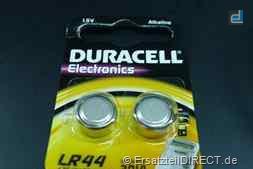Duracell Knopfzelle LR44 B2 (2er-Pack)