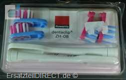 Rowenta Kinder Ersatzbürsten Dentaclip ZH-08 4Stk.