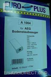 Euro-Plus Staubsaugerbeutel A1004 für Privileg AEG