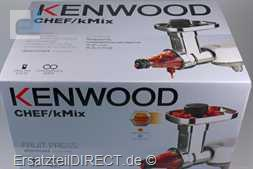 Kenwood Küchenmaschine Beerenpresse KAX644ME