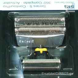 SPARPACK+ Braun Kombipack 8000 / 51S inkl. 3er CCR