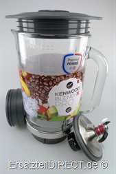 Kenwood Mixer Glas Mixglas komplett BLM800WH BLM80