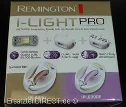 Remington Lichtkartusche-Set SP6000FQ zu IPL6000