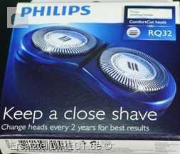 Philips Rasierer BodyGroomer 2er-Scherköpfe RQ32