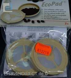 Scanpart EcoPad - nachfüllbare Kaffeepads 2er Pack