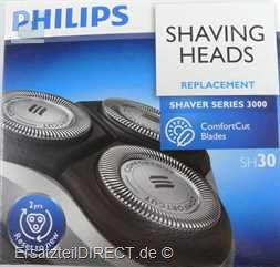 Philips Scherkopf-Set CloseCut SH30 zu S3000 S1000
