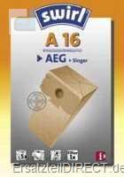 Swirl Staubsaugerbeutel A16 (A 16) (AEG Singer)