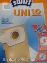 Swirl Staubsaugerbeutel UNI10 (UNI 10) #