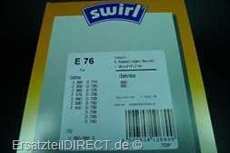 Swirl Staubsaugerbeutel E 76 #