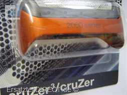 Braun Scherfolie SB 2000 CruZer-Model (metalicRot)