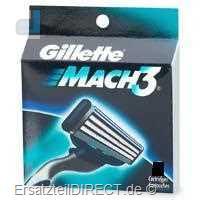 Gillette Ersatzklingen Mach3 / 12er-Pack (Mach 3)#