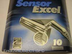 Gillette Ersatzklingen Sensor Excel / 10er-Pack #