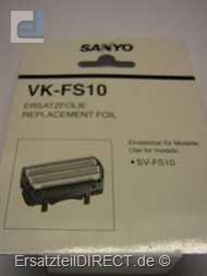 Sanyo Scherfolie VK-FS 10 (VK-FS10) für SV-FS10