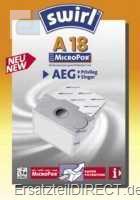 Swirl Staubsaugerbeutel A18 MicroPor (AEG Privileg